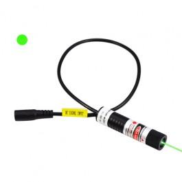녹색 점은 맞춤 레이저를 투사